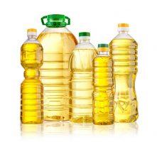 Olive oil bottle isolated  on white backgrouund